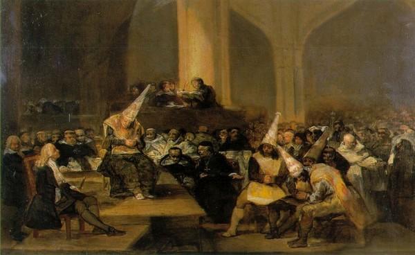 ▲ Francisco Goya : The Spanish Inquisition (1812-1819) Real Academia de Bellas Artes de San Fernando , 마드리드